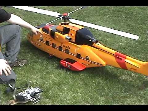 hélicoptère téléguidé
