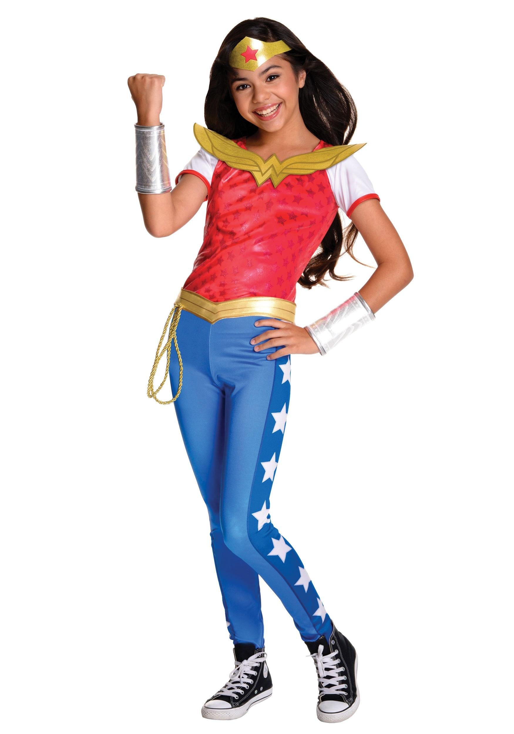 hero girl costume