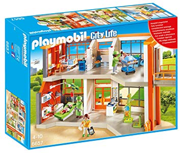 hopital playmobil 6657
