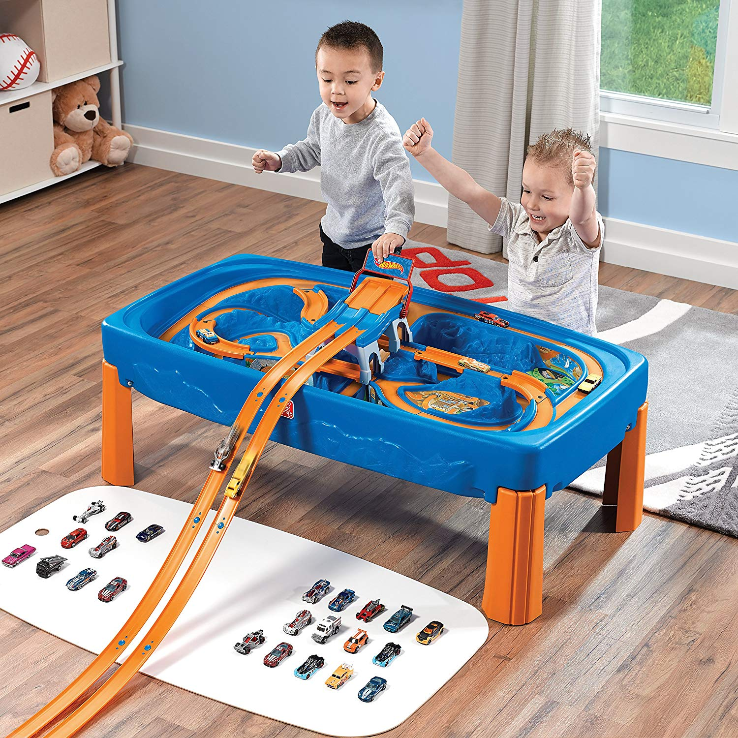 hot wheels table