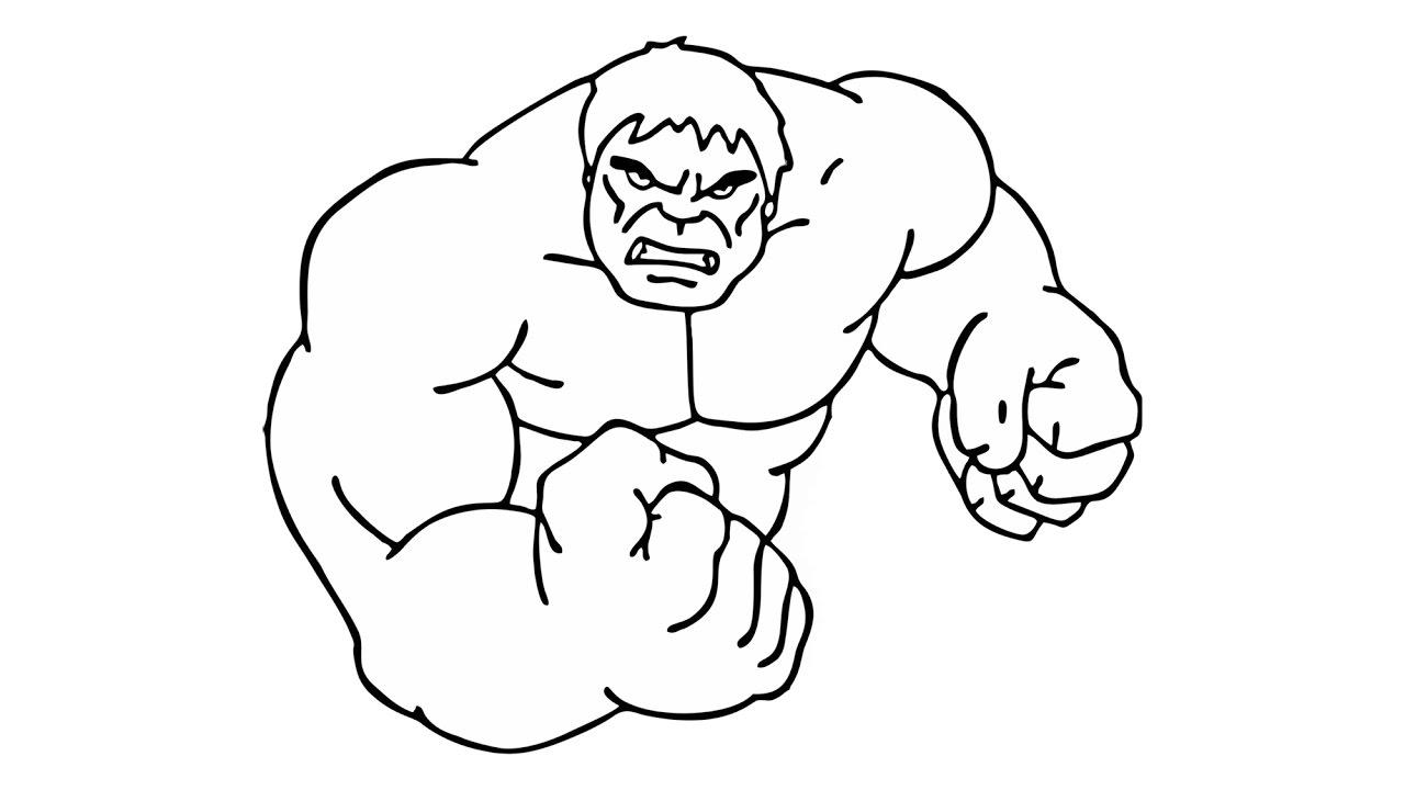 hulk dessin