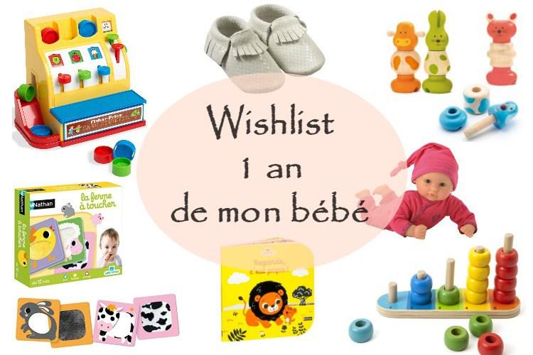 idée cadeau anniversaire bébé 1 an