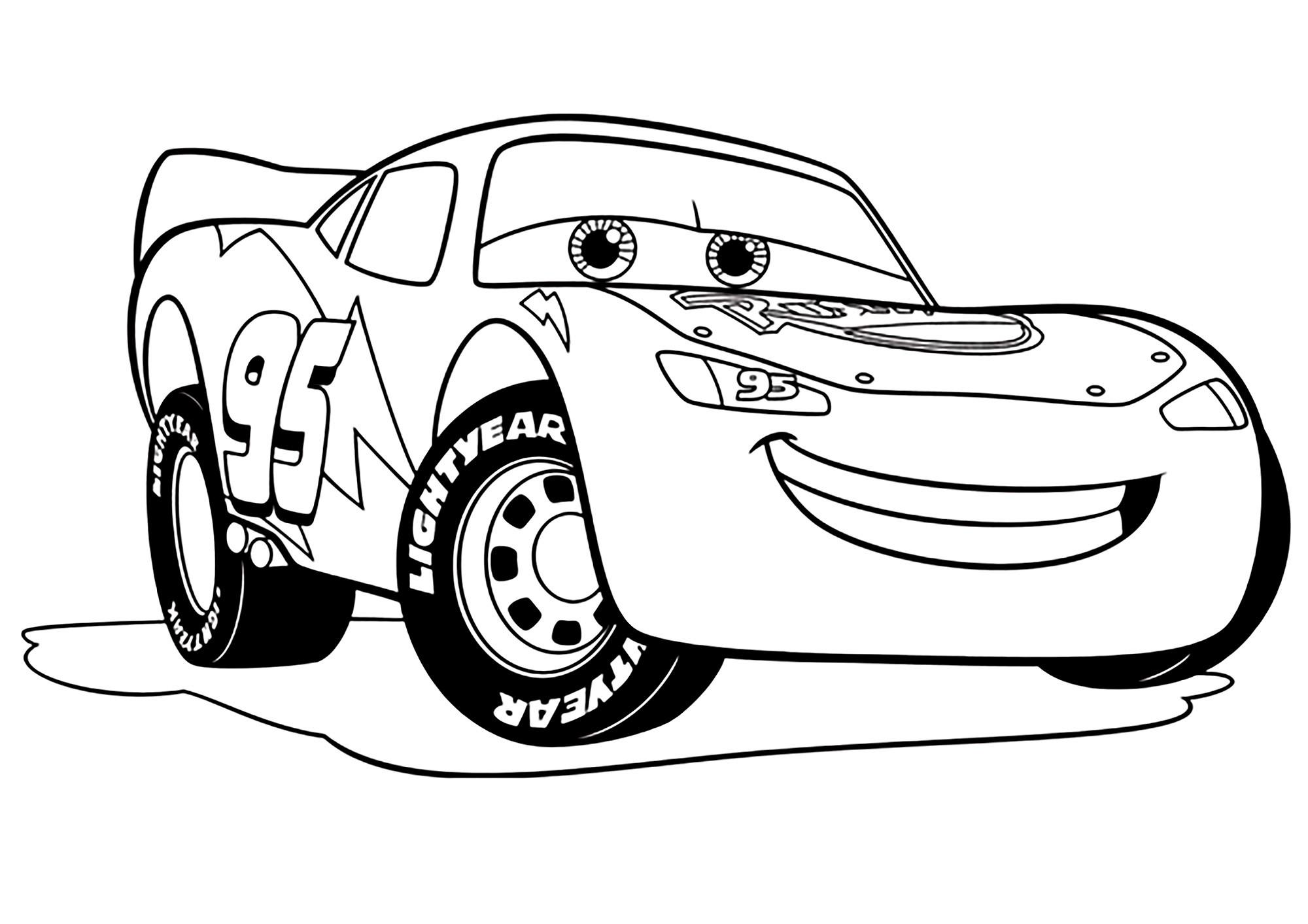 imprimer coloriage cars