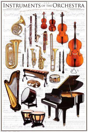 instruments d un orchestre