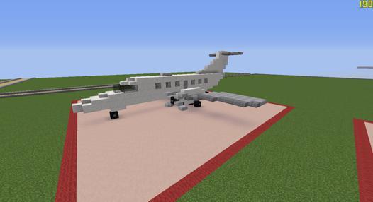 jet privé minecraft
