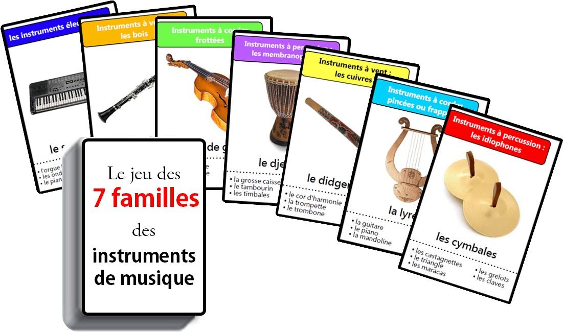 jeu d instruments de musique