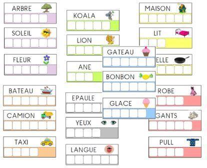 jeu de lettres maternelle