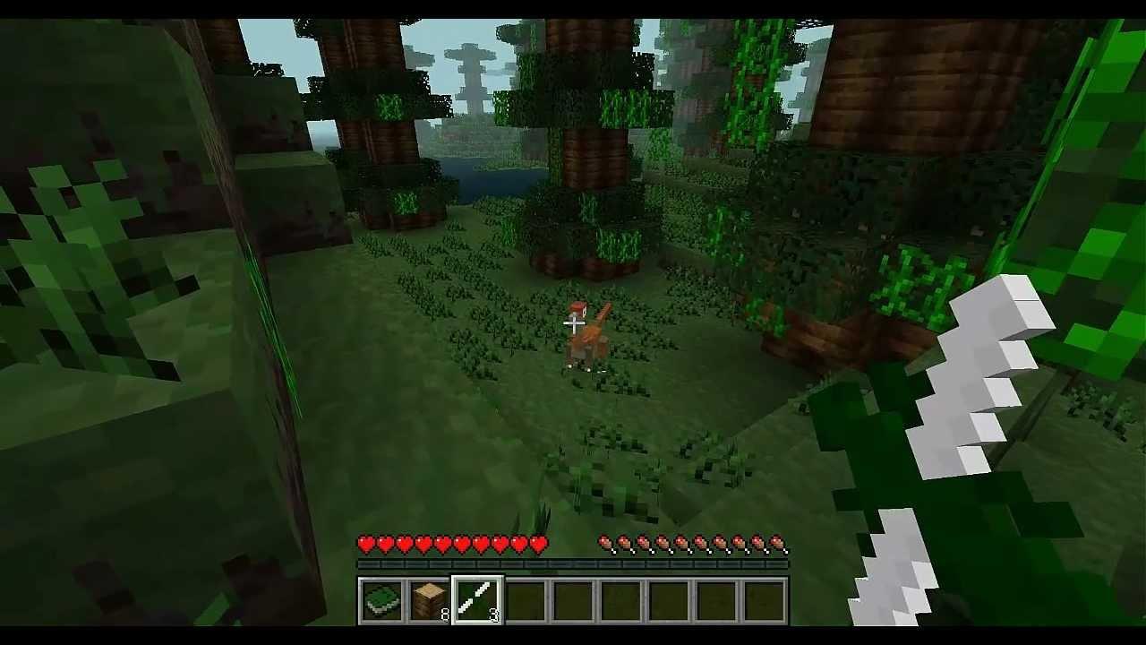 jeu de minecraft dinosaure