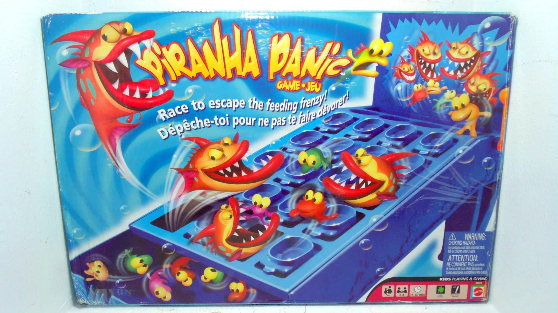jeu de piranha 4