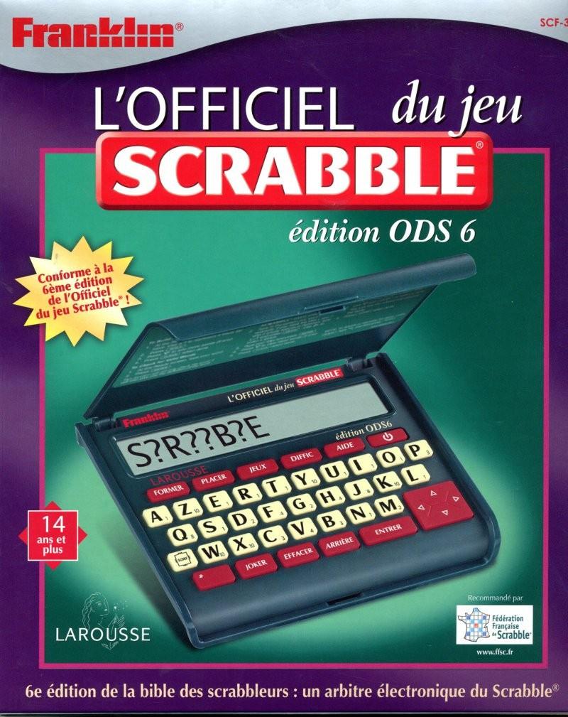 jeu de scrabble électronique en français