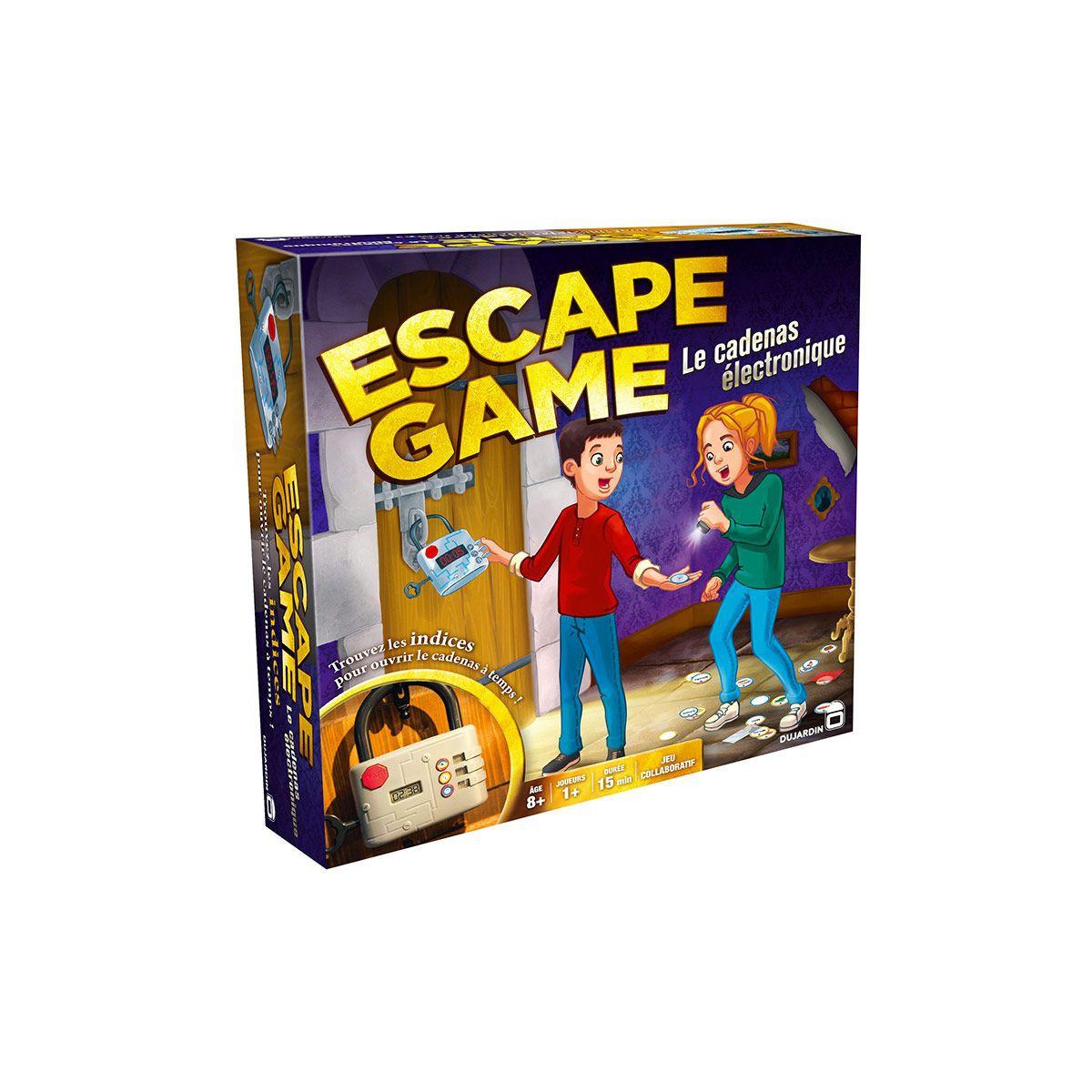 jeu de société escape game dujardin