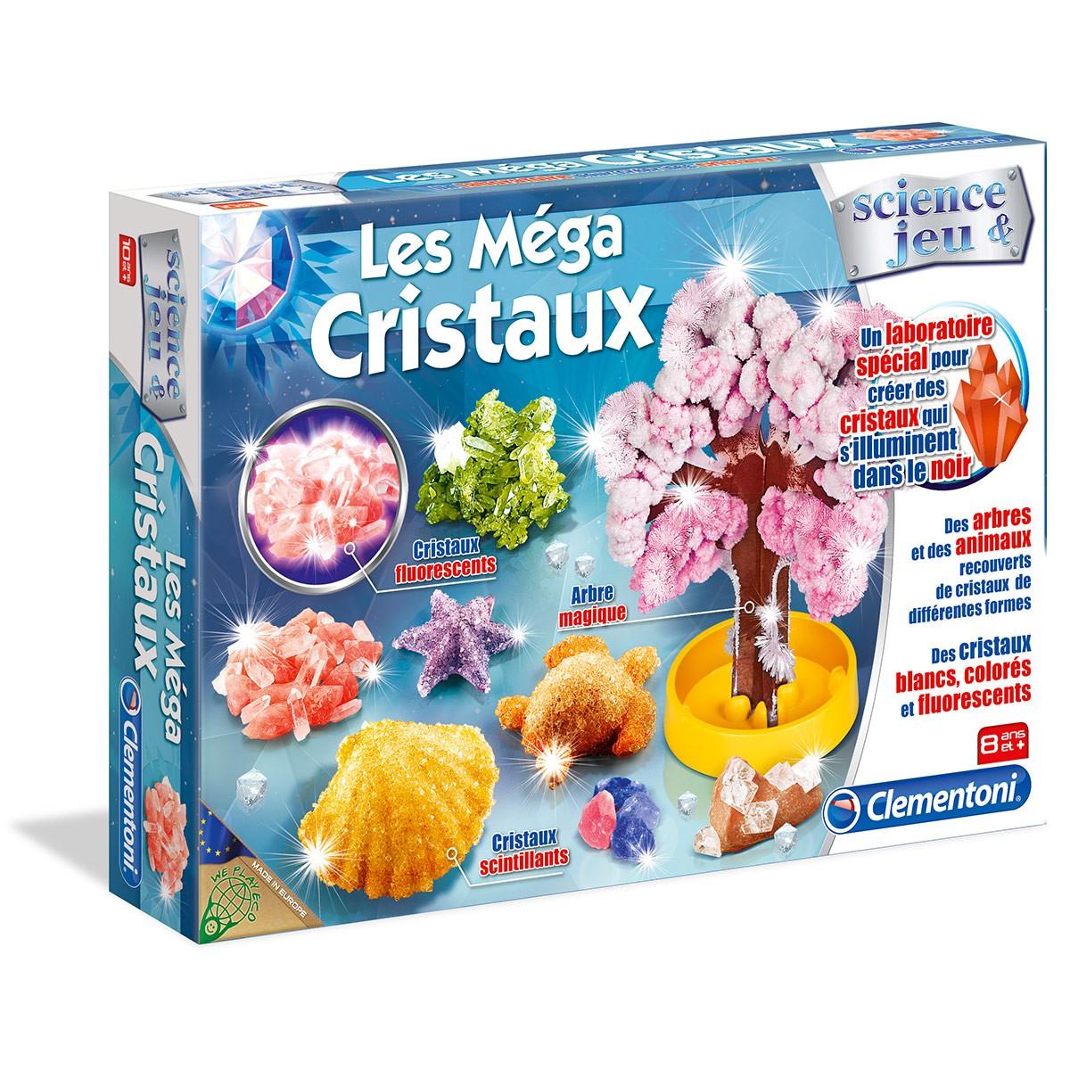 jeu fabriquer des cristaux