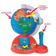 jeu globe terrestre