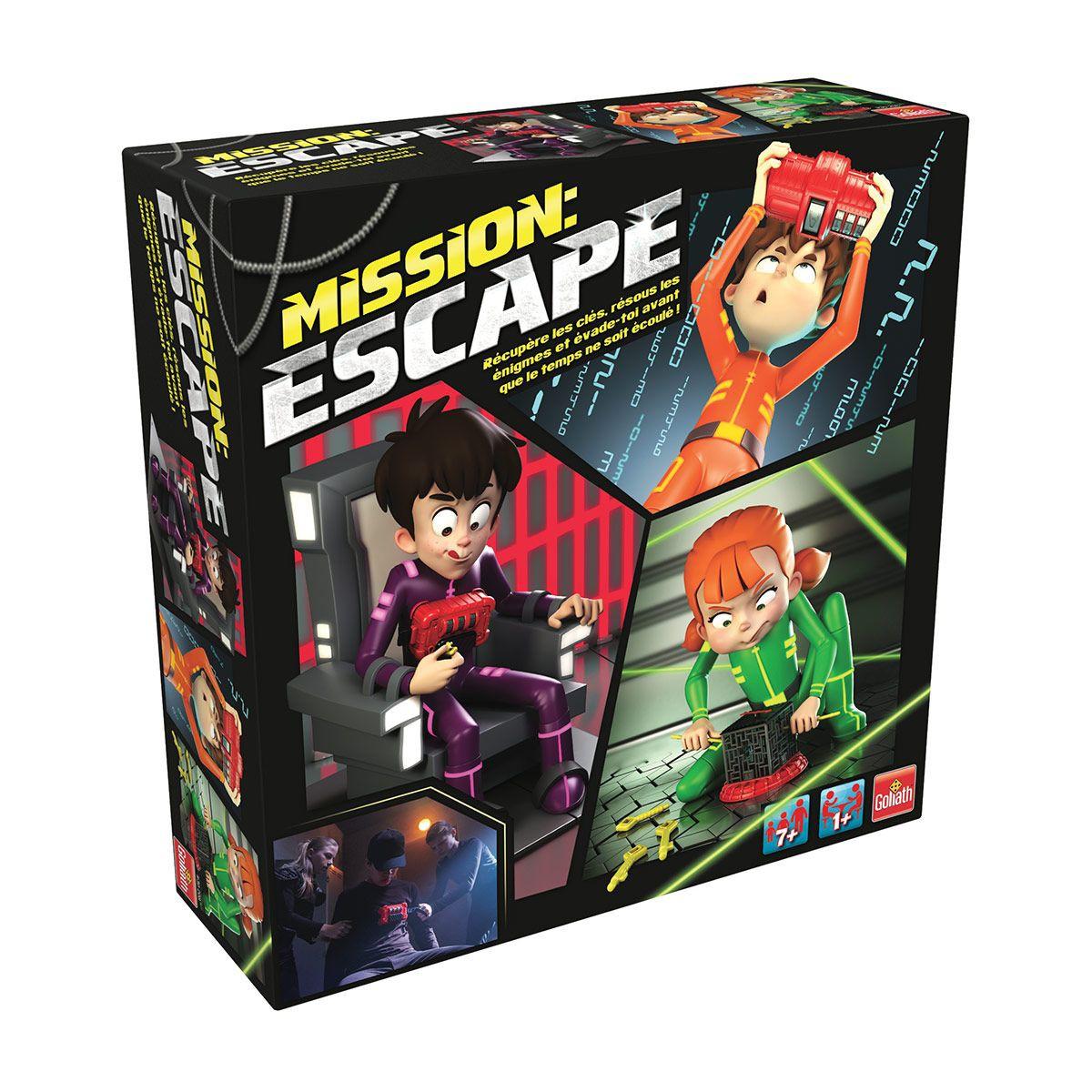 jeu mission escape