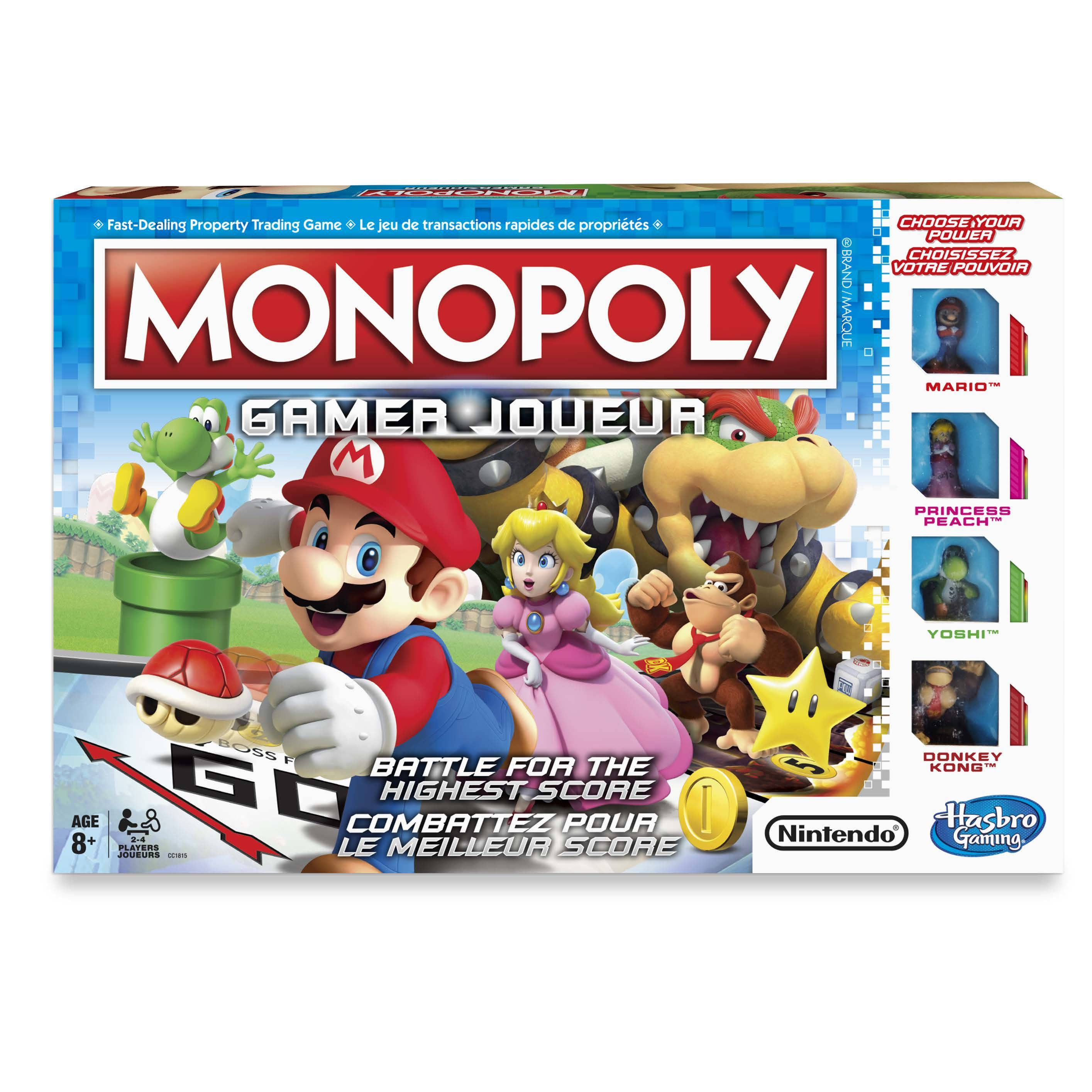 jeu monopoly mario