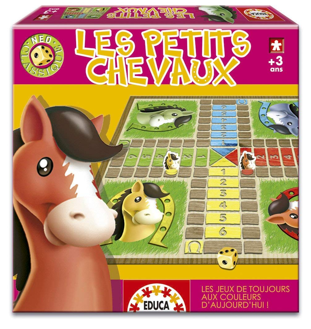 jeu petits chevaux