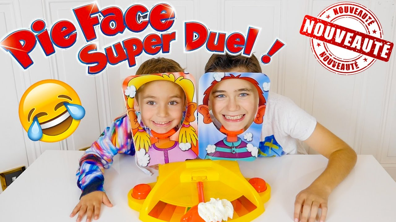 jeu pie face super duel