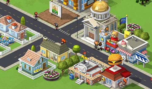 jeu pour construire une ville