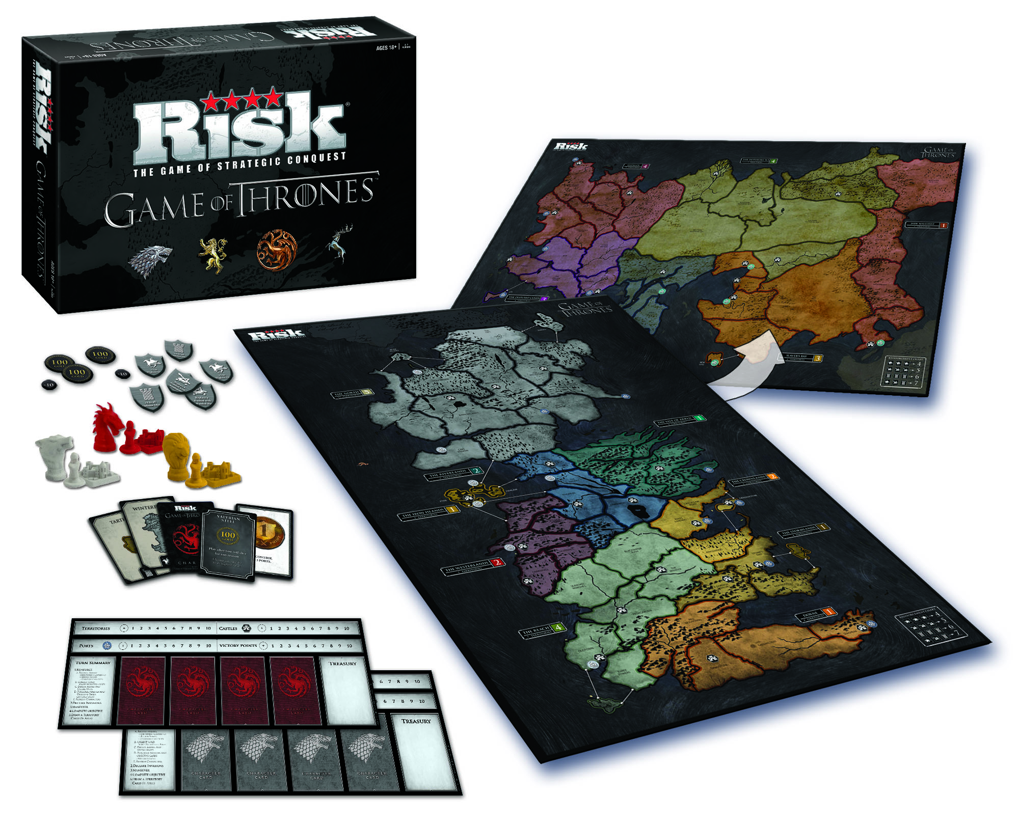 jeu risk game of thrones