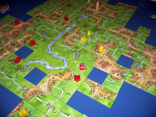 jeu société carcassonne