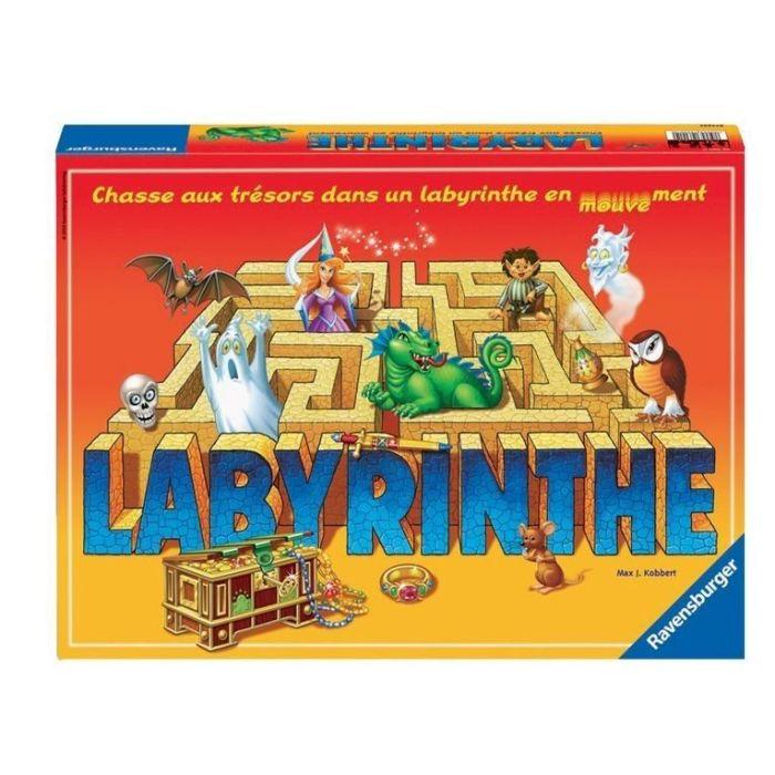 jeu société labyrinthe