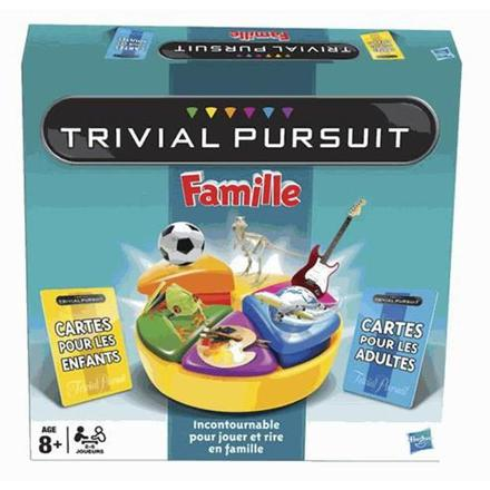 jeu trivial pursuit famille