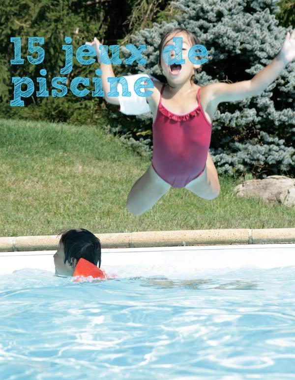 jeux a faire a la piscine