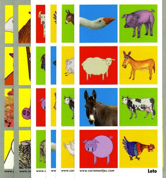 jeux animaux de la ferme