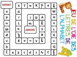 jeux avec les lettres de l alphabet
