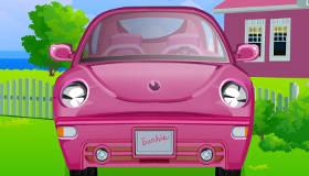 jeux barbie voiture