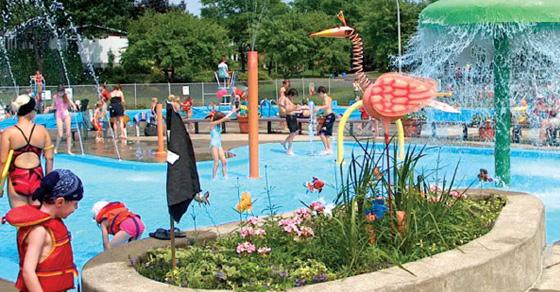 jeux d eau piscine