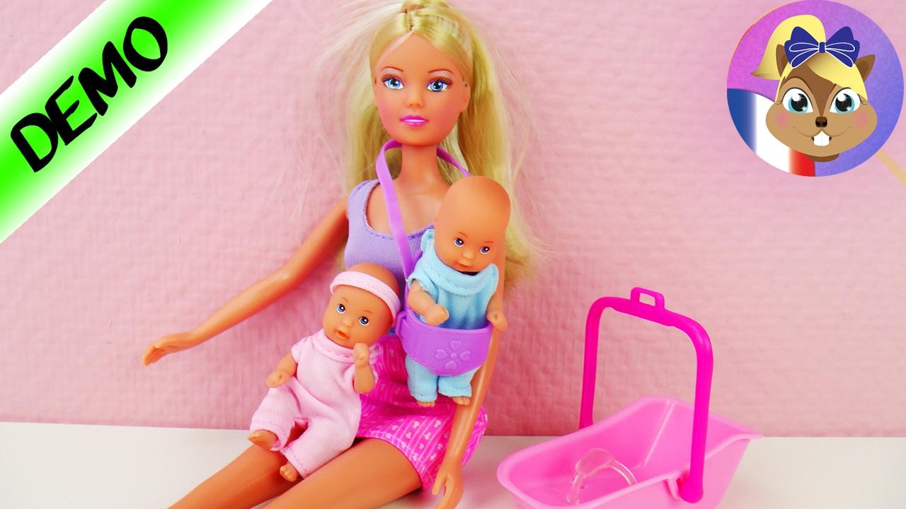 jeux de barbie avec son bébé