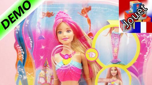 jeux de barbie sirène