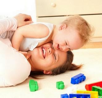 jeux de bébé maman