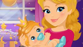 jeux de bébé princesse
