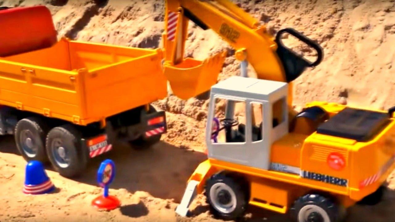 jeux de camion de travaux