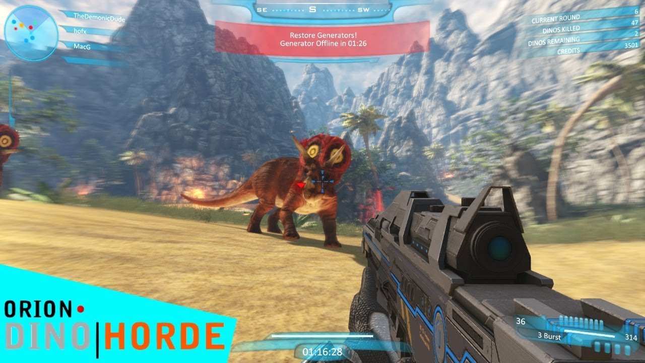 jeux de chasse au dinosaure