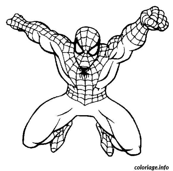 jeux de coloriage de spiderman