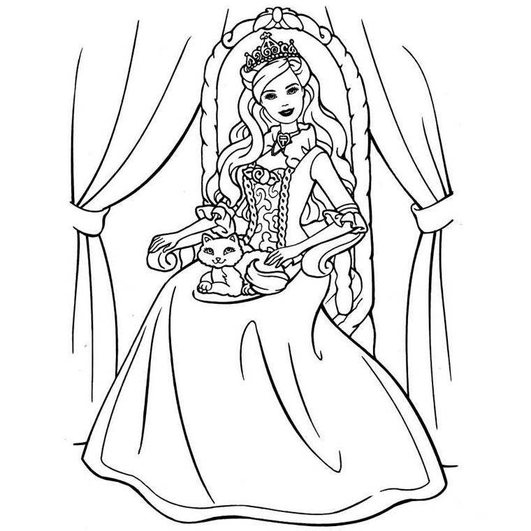 jeux de coloriage princesse