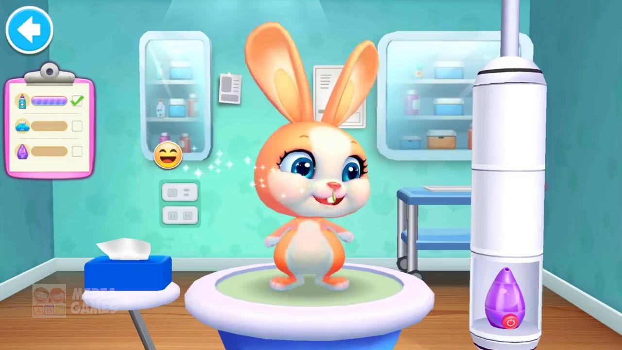 jeux de docteur pour bébé animaux
