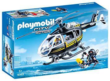 jeux de hélicoptère police