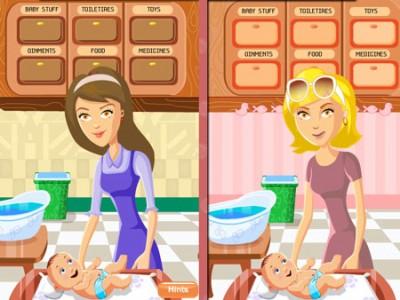 jeux de maman et son bébé