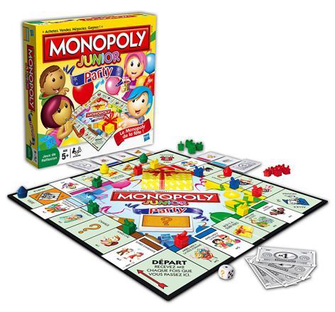 jeux de monopoly junior
