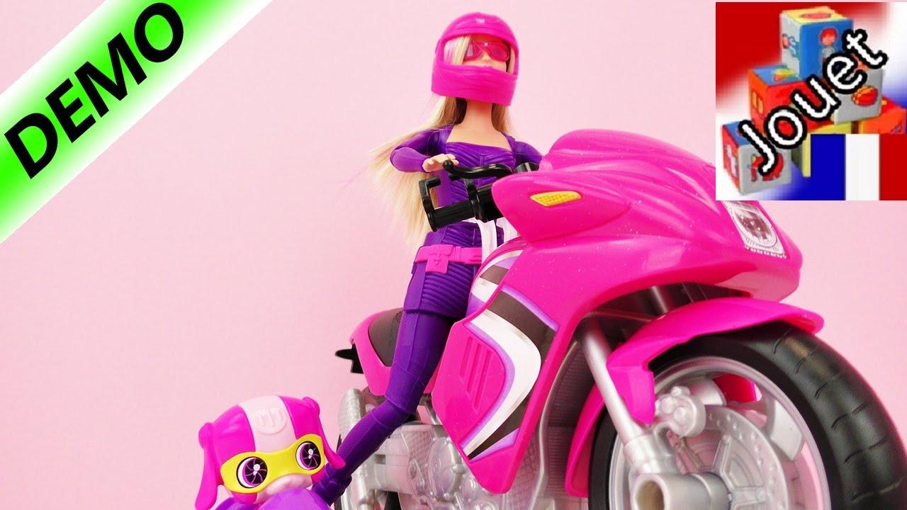 jeux de moto barbie