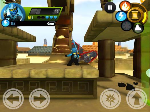 jeux de ninjago gratuit en ligne