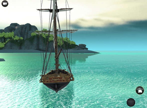 jeux de pirate 3d