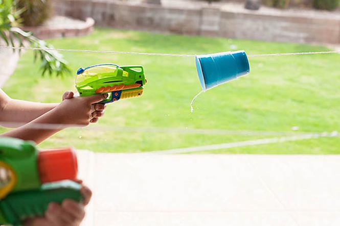 jeux de pistolet a eau