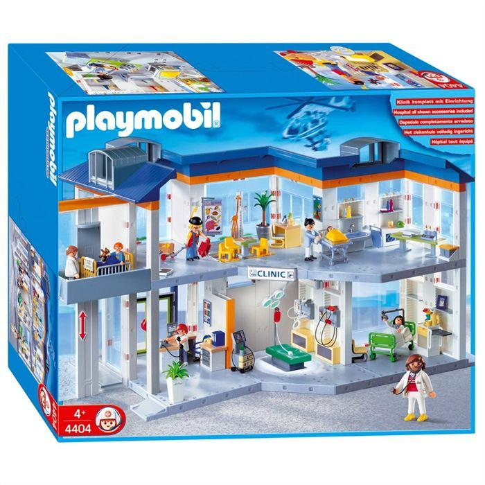 jeux de playmobil hopital