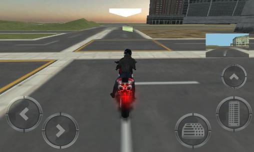 jeux de police de moto