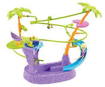 jeux de polly pocket a la piscine
